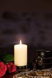 Samenstelling van romantisch geslachtsspeelgoed Royalty-vrije Stock Fotografie