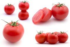 Samenstelling van tomates Stock Afbeelding