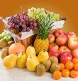 Samenstelling van Vruchten stock foto