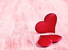 Samenstelling voor de Dag van de Valentijnskaart Royalty-vrije Stock Afbeeldingen