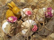 Samenstelling voor Pasen in uitstekende stijl Stock Afbeelding
