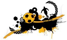 Samenvatting 1 van de voetbal Stock Afbeelding