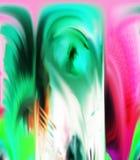 Samenvatting Art Het schilderen grafisch Abstractie beeld royalty-vrije stock foto