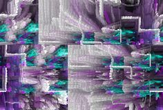 Samenvatting Art Het schilderen grafisch Abstractie beeld Stock Foto's
