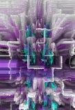 Samenvatting Art Het schilderen grafisch Abstractie beeld Royalty-vrije Stock Fotografie