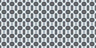 Samenvatting in donkere schaduwen, het ornament van Paisley Naadloze patroon of texturen Caleidoscopisch oriënteer populaire stij Royalty-vrije Stock Fotografie