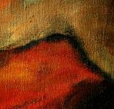 Samenvatting door olie op canvas, illustratie Royalty-vrije Stock Fotografie