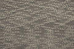 Samenvatting gebreide textuur van donkere beige kleur Royalty-vrije Stock Afbeeldingen