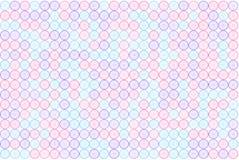 Samenvatting gekleurd cirkels, bellen, gebied of van de ellipsenvorm patroon Mozaïek, achtergrond, Web & art. vector illustratie