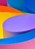 Samenvatting gekleurd document Royalty-vrije Stock Afbeelding