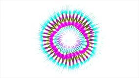 Samenvatting Gekleurd Patroon met Witte achtergrond stock illustratie