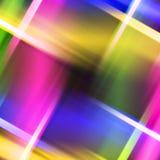 Samenvatting gekleurd strepenvoorwerp Stock Afbeelding