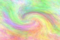 Samenvatting gekleurde achtergrond die een werveling van Regenboogpastelkleuren vertegenwoordigen vector illustratie