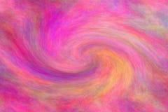 Samenvatting gekleurde achtergrond die een werveling van Roze kleuren vertegenwoordigen royalty-vrije illustratie