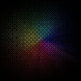 Samenvatting gekleurde achtergrond op zwarte vector illustratie