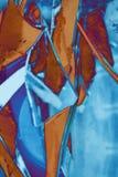 Samenvatting gekleurde achtergrond van scherpe randen stock foto