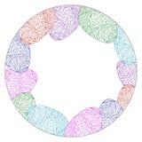 Samenvatting gekleurde cirkel Royalty-vrije Stock Foto's