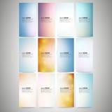 Samenvatting Gekleurde geplaatste Achtergronden Moderne verticaal Royalty-vrije Stock Afbeelding