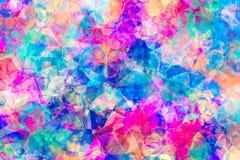 Samenvatting Gekleurde Juweelachtergrond Stock Afbeeldingen