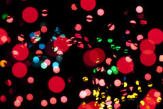 Samenvatting Gekleurde Orbs Royalty-vrije Stock Afbeelding