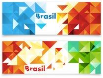 Samenvatting gekleurde vectorachtergronden Stock Fotografie