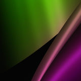 Samenvatting gekleurde voorwerpen Stock Afbeelding