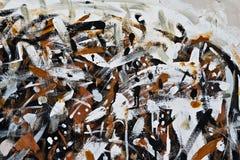 Samenvatting geschilderde textuur als achtergrond Royalty-vrije Stock Fotografie