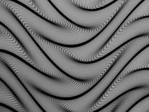 Samenvatting gestileerde lijnen, vector Royalty-vrije Stock Foto's