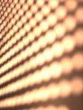 Samenvatting gestippeld licht patroon Royalty-vrije Stock Afbeeldingen