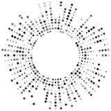 Samenvatting gestippelde vectorachtergrond Halftone effect royalty-vrije illustratie