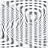 Samenvatting gevoerde achtergrond, optische illusiestijl Chaotische lijnen Stock Fotografie