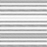Samenvatting gevoerde achtergrond, optische illusiestijl Chaotische lijnen Stock Foto's