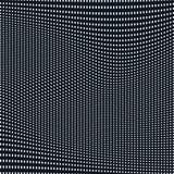 Samenvatting gevoerde achtergrond, optische illusiestijl Chaotische lijnen Royalty-vrije Stock Afbeeldingen