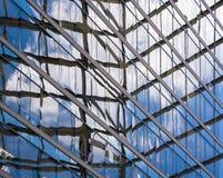 Samenvatting in glas en staal Royalty-vrije Stock Foto's