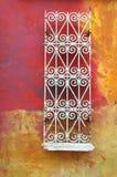 Samenvatting, grunge, langzaam verdwenen geschilderde muur Royalty-vrije Stock Afbeeldingen
