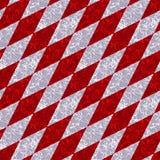Samenvatting marmerdiamantpatroon met witte en rode aders vector illustratie