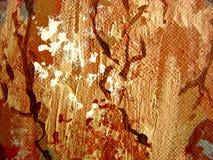 Samenvatting op Canvas Royalty-vrije Stock Fotografie