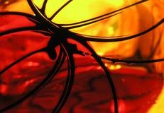 Samenvatting op glas Royalty-vrije Stock Foto