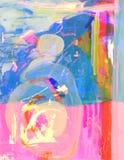 Samenvatting op glas Royalty-vrije Stock Afbeelding