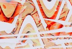 Samenvatting op glas Stock Foto's