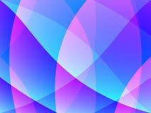 Samenvatting in Roze en Blauw Royalty-vrije Stock Foto