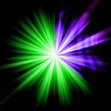 Samenvatting starburst Royalty-vrije Stock Foto's