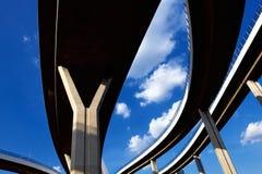 Samenvatting structureel van brug Stock Afbeeldingen