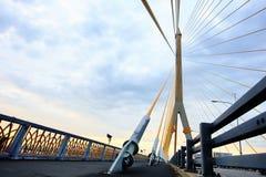 Samenvatting structureel van brug Stock Foto