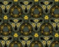 Samenvatting uitgedreven patroon 3D illustratie stock illustratie