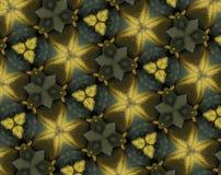 Samenvatting uitgedreven patroon 3D illustratie vector illustratie