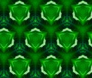 Samenvatting uitgedreven patroon 3D illustratie royalty-vrije illustratie