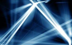 Samenvatting van de digitale lijn van de bluel lichte laser Achtergrond voor een uitnodigingskaart of een gelukwens Stock Fotografie
