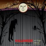 Samenvatting van Halloween-Nacht Royalty-vrije Stock Foto's
