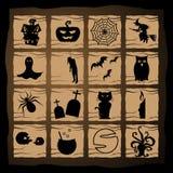 Samenvatting van Halloween-Nacht Stock Afbeelding